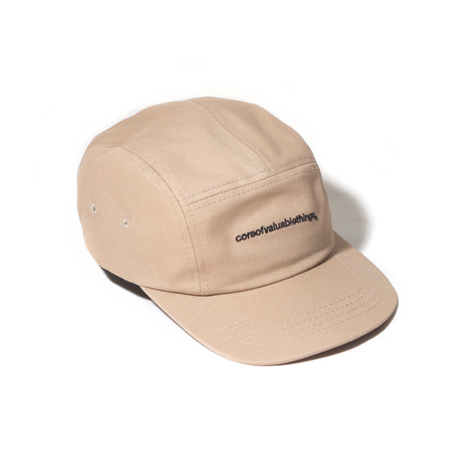 [벗딥] N CORE CAMP CAP-BEIGE