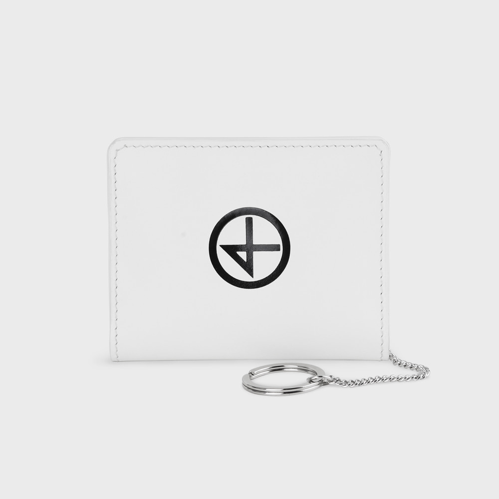 [논논] TAIL WALLET_WHITE