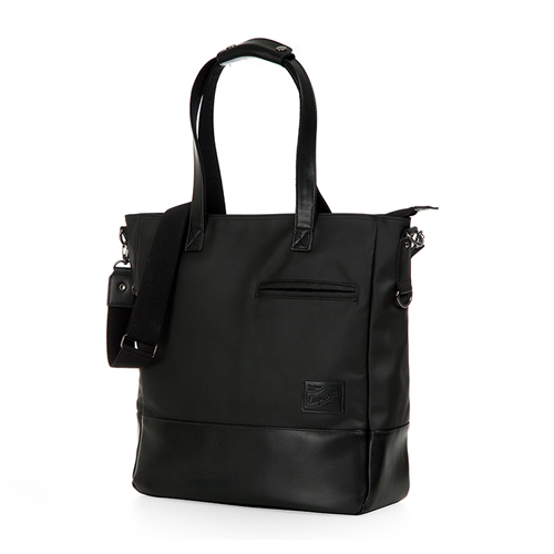 [카고브로스] MELKE Tote & Cross Bag - Black