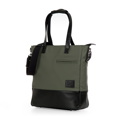 [카고브로스] MELKE Tote & Cross Bag - Khaki