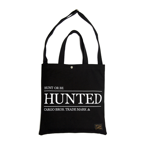 [카고브로스] Hunted tote cross - Black