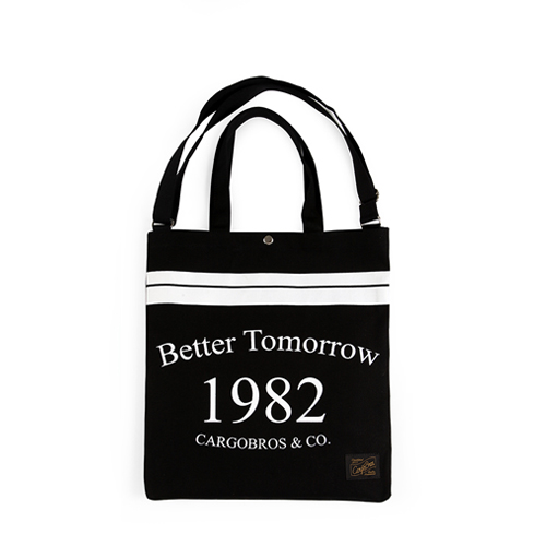 [카고브로스] CBT tote Cross Bag - Black