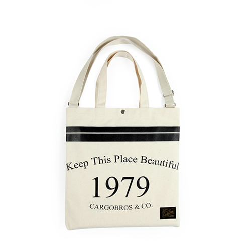 [카고브로스] CBT tote Cross Bag - Ivory