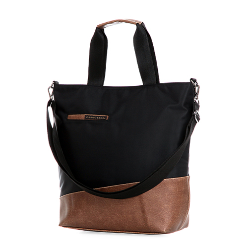 [카고브로스] Denis 2way Tote Bag - Black/Brown