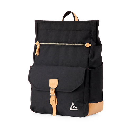 [카고브로스] RESTEP Backpack - Black