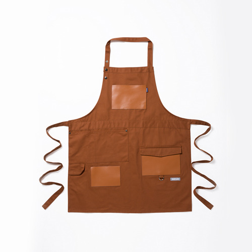 work apron No.F-1 brown