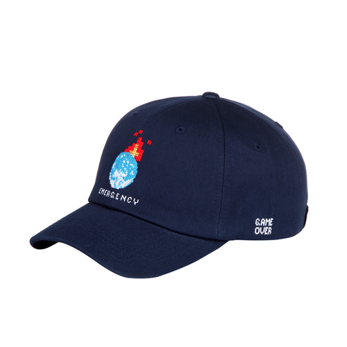 [아케이드코드] EARTH BALLCAP-Navy