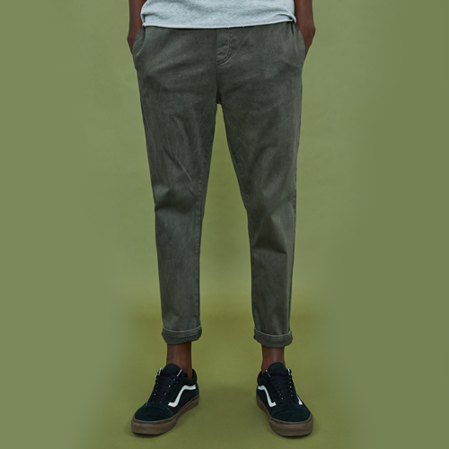 [엑스톤즈] XTONZ XP4 Banding Cotton Pants-Khaki (밴딩 면바지)
