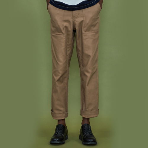 [엑스톤즈] [XTONZ] XP13 Fatigue Pants-Beige (퍼티그팬츠)