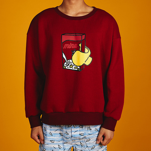[MINU]Cereal sweatshirts[3color]