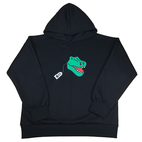 [MINU][기모]Dino Toy hoody[Black]