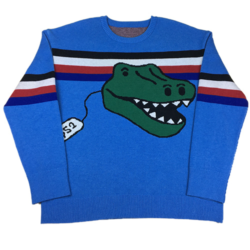 [MINU] Dino Toy sweater[BLUE]
