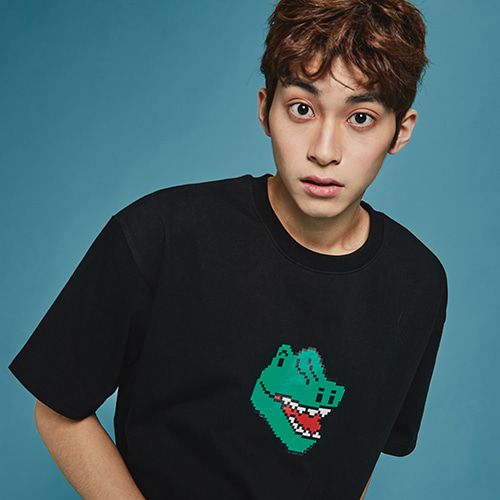 [MINU] Dino T-shirt[Black]