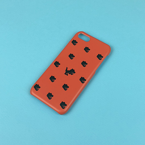 [MINU] Dino phone case[Orange]