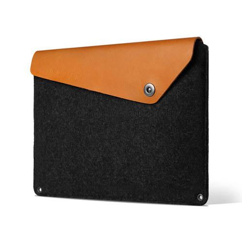 "[무쪼] Sleeve for 12"" Macbook - Tan"