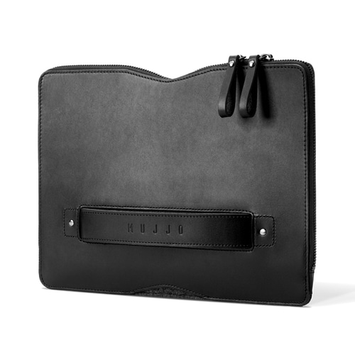 "[무쪼] Carry-On Folio Sleeve for 12"" Macbook - Black"