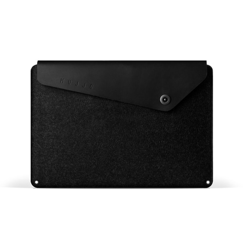 "[무쪼] Sleeve for 15"" Macbook Pro - Black"