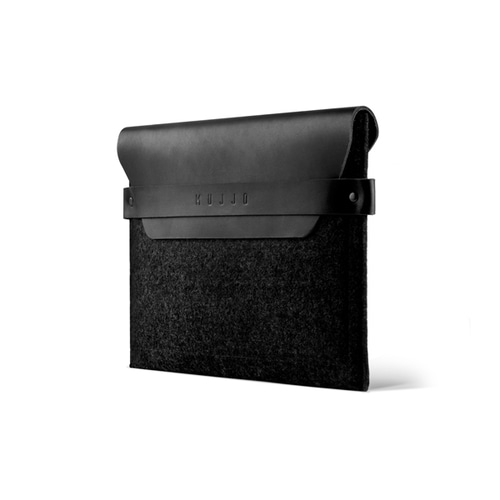 [무쪼] iPad Envelope Sleeve - Black