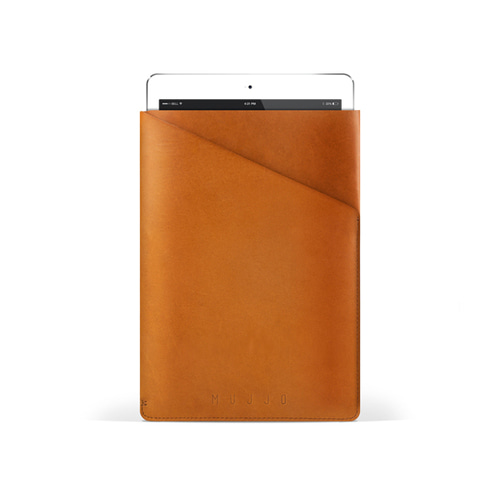 [무쪼] Slim Fit iPad Air Sleeve - Tan