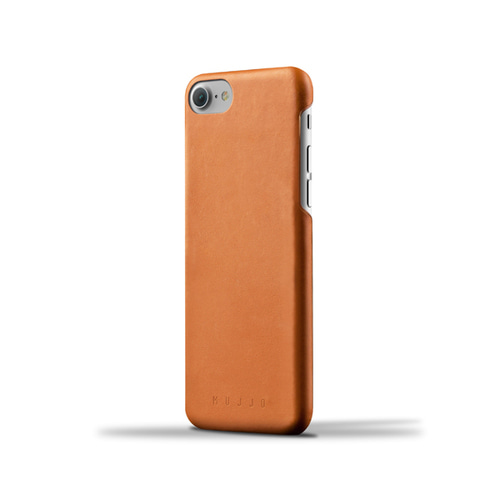 [무쪼] Leather Case for iPhone 8 / 7 - Tan