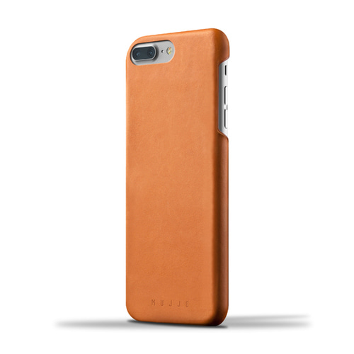 [무쪼] Leather Case for iPhone 8 Plus / 7 Plus - Tan