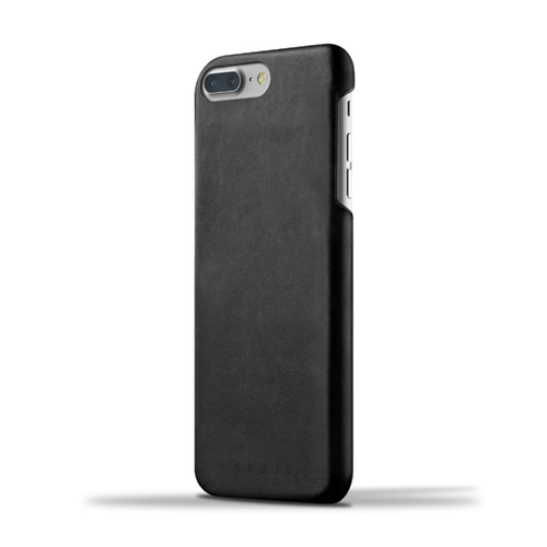 [무쪼] Leather Case for iPhone 8 Plus / 7 Plus - Black