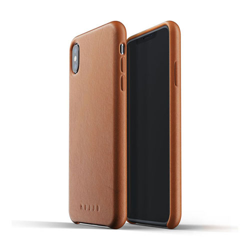 [무쪼] Full Leather Case for iPhone Xs Max - Tan