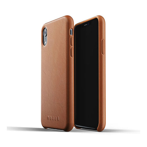 [무쪼] Full Leather Case for iPhone Xr - Tan