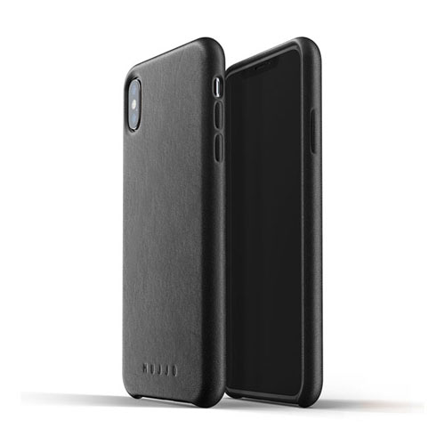 [무쪼] Full Leather Case for iPhone Xs Max - Black