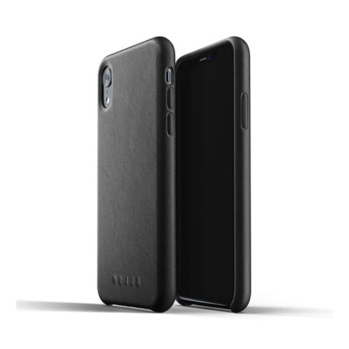 [무쪼] Full Leather Case for iPhone Xr - Black