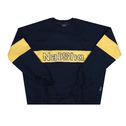 NAISHO navy & mustard color matching mantoman