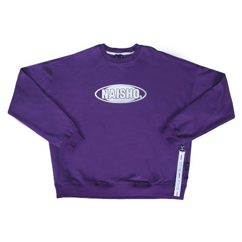 NAISHO CIRCLE LOGO PURPLE MANTOMAN