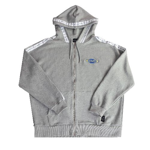 NAISHO CIRCLE LOGO ZIP UP HOOD(GRAY)