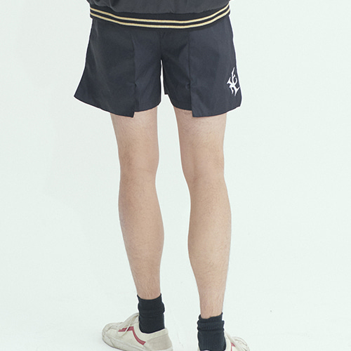 [와이낫씨] OverPocket Half Pants - Bk