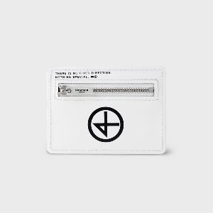 [논논] CARD WALLET_WHITE