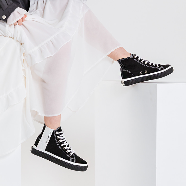 Silhouette Hi Black / White
