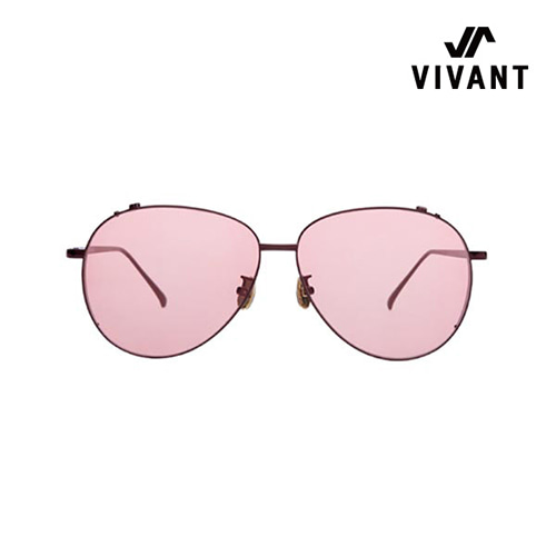 [Vivant X Scene Number For]SN0101 - BROWN(Red Tint)