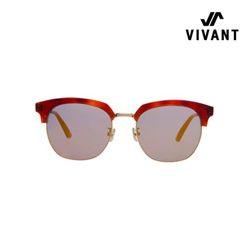 [Vivant X Scene Number For]SN0622 - BROWN LEOPARD(Half Brown Mirror)