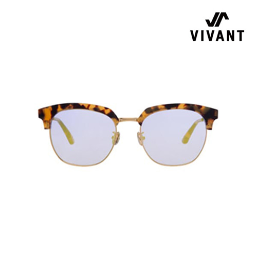 [Vivant X Scene Number For]SN0622 - YELLOW LEOPARD(Half Gold Mirror)