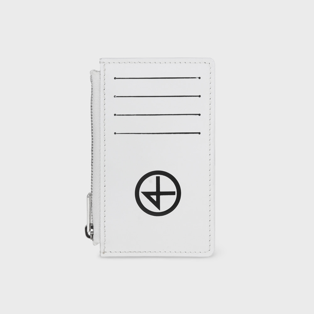 [논논] BILL WALLET_WHITE
