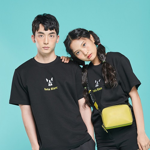 [보테블랑] DOUBLE LOGO T-SHIRT (BLACK)